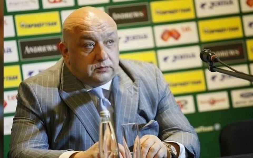 Кралев: ММС не може да финансира клубовете чрез БФС