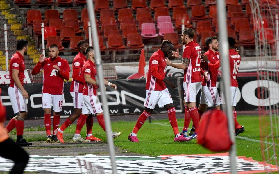 Отборът на ЦСКА проведе първа тренировка по време на лагера