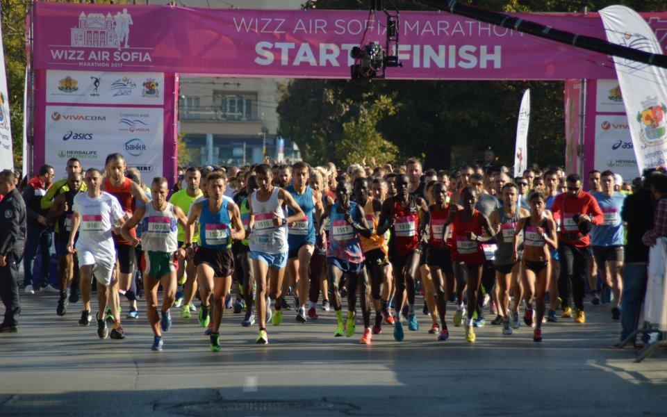 ИААФ одобриха новото трасе на Софийския маратон