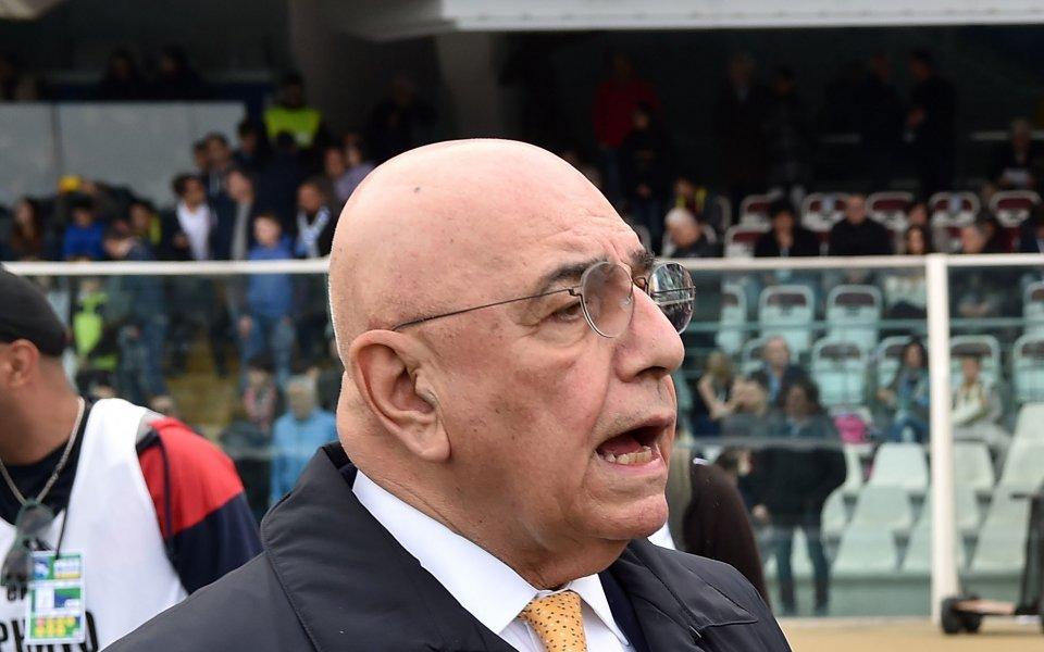 Бившият изпълнителен директор на Милан Адриано Галиани, който беше част