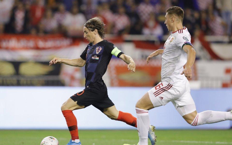 Отборът на Хърватия постигна безпроблемна победа над Унгария в мач