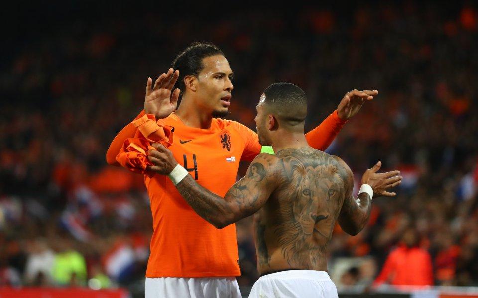 Холандия обърна Северна Ирландия с 3:1 в последните 10 минути