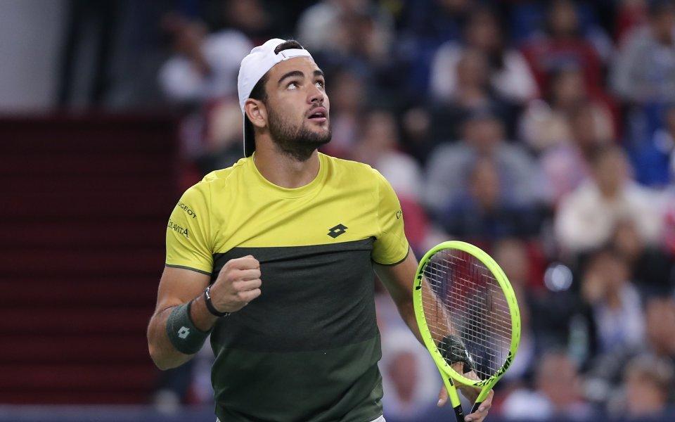 Матео Беретини се класира за втория кръг на тенис турнира