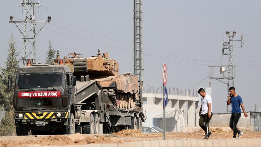 Турция започна офанзива срещу кюрдските сили...
