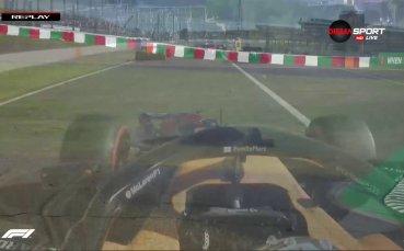 Провал за Ферари на старта за ГП на Япония