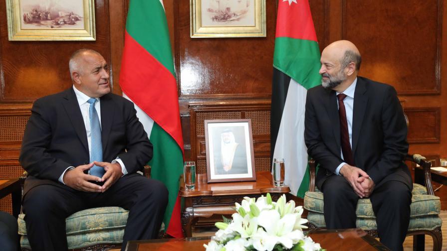 Борисов: Трябва да помогнем на Йордания за имигрантите
