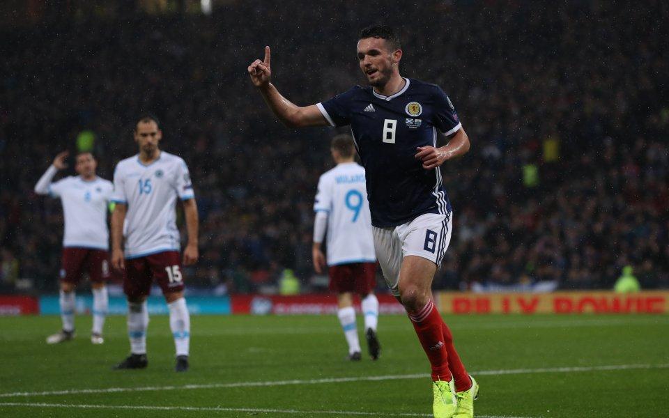 Селекцията на Шотландия преустанови серия от четири поредни загуби, след