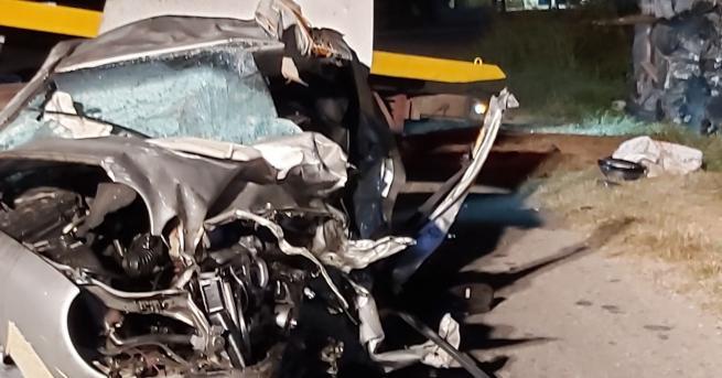 България Жестока катастрофа отне живота на шестима души Инцидентът е