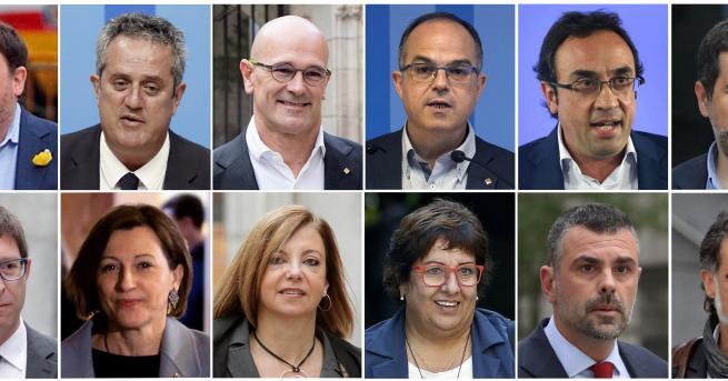 Свят Общо 100 години затвор за бунтовниците от Каталуния Бившият
