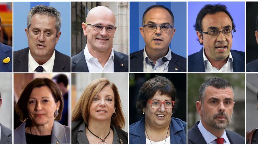 Общо 100 години затвор за бунтовниците от Каталуния