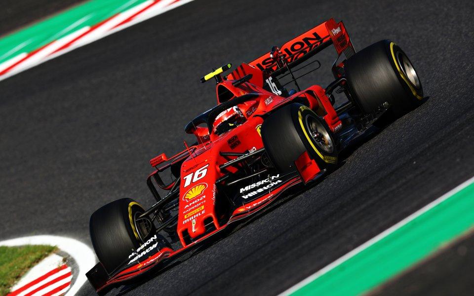 Пилотът на Ферари във Формула 1 – Шарл Льоклер получи