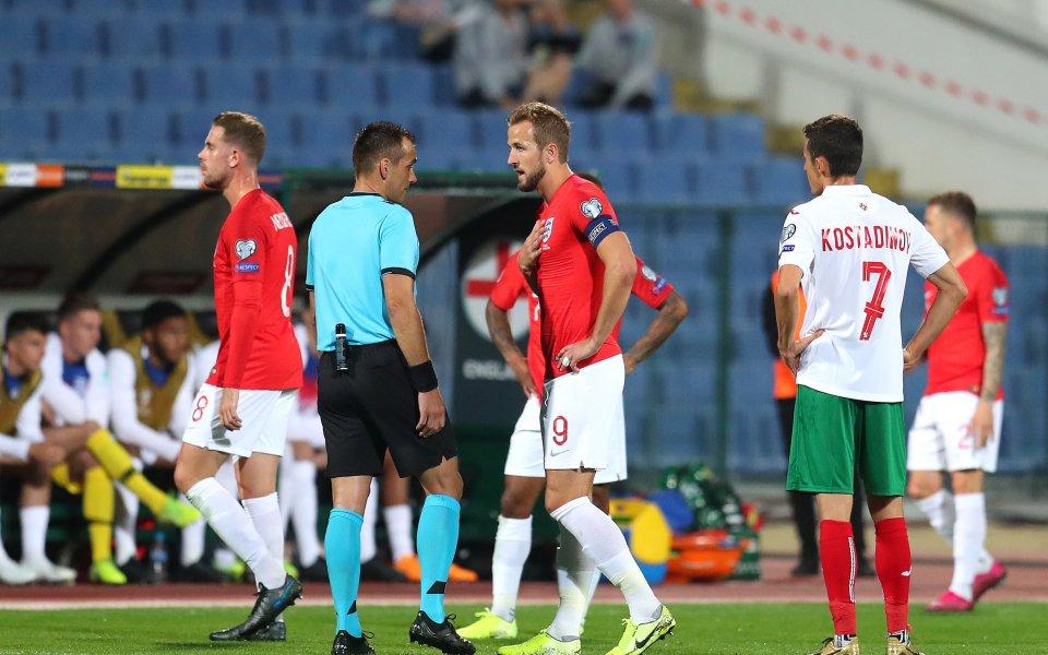 Европейската квалификация между България и Англия е пред прекратяване. В