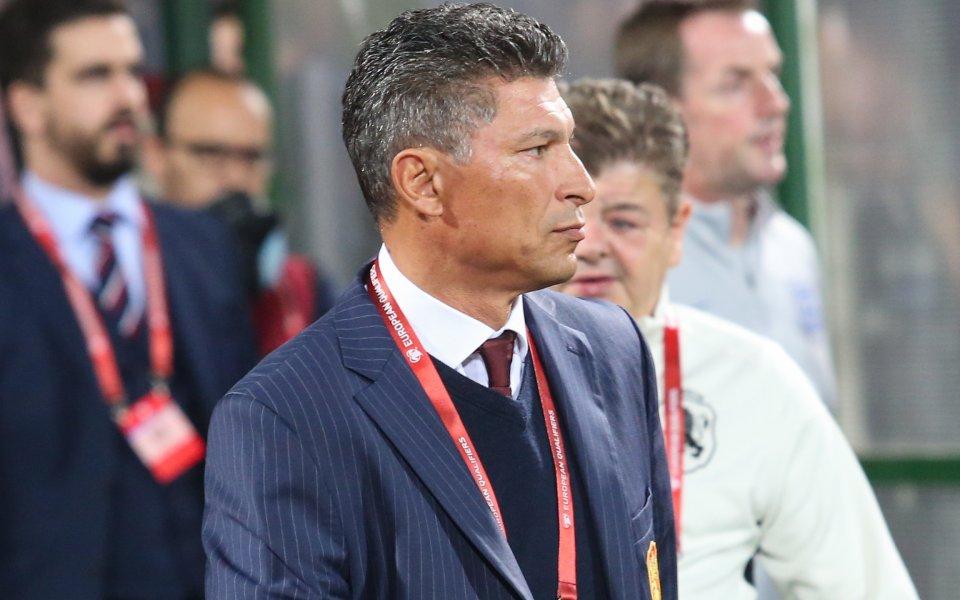 Селекционерът на българския национален отбор по футбол Красимир Балъков обясни