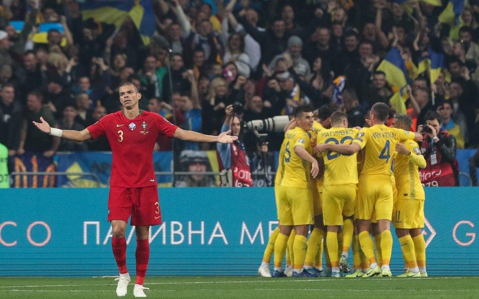Украйна си осигури класирането на Европейското първенство през следващата година