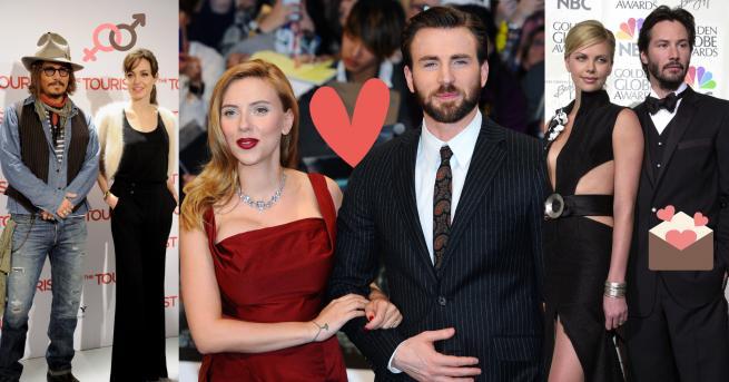 Снимка: Холивудските двойки, които светът иска да събере