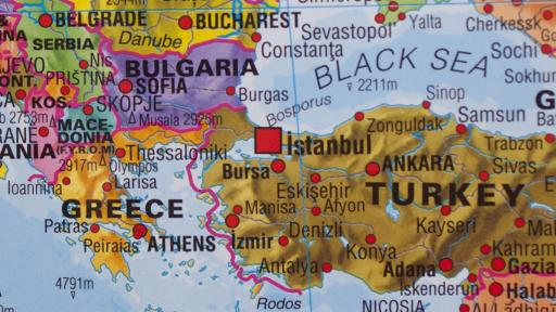 Карта на Турция с български територии, МВнР проверява