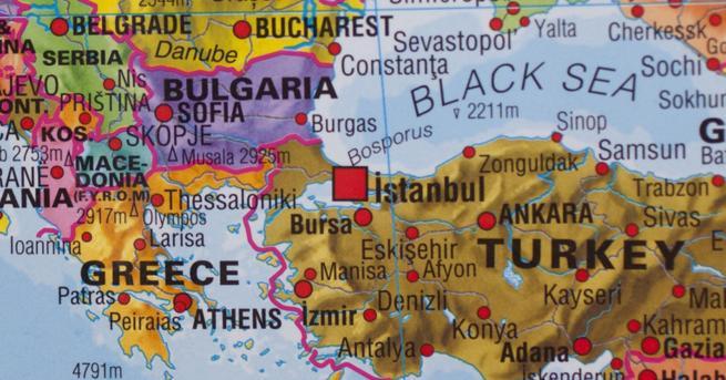 България Карта на Турция с български територии, МВнР проверява Картата