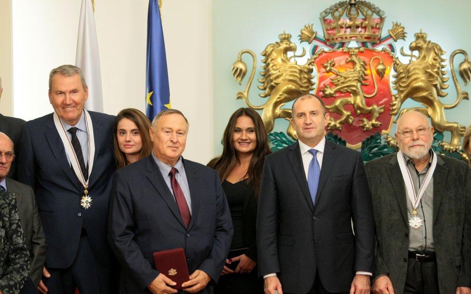 Атанас Голомеев беше удостоен с орден
