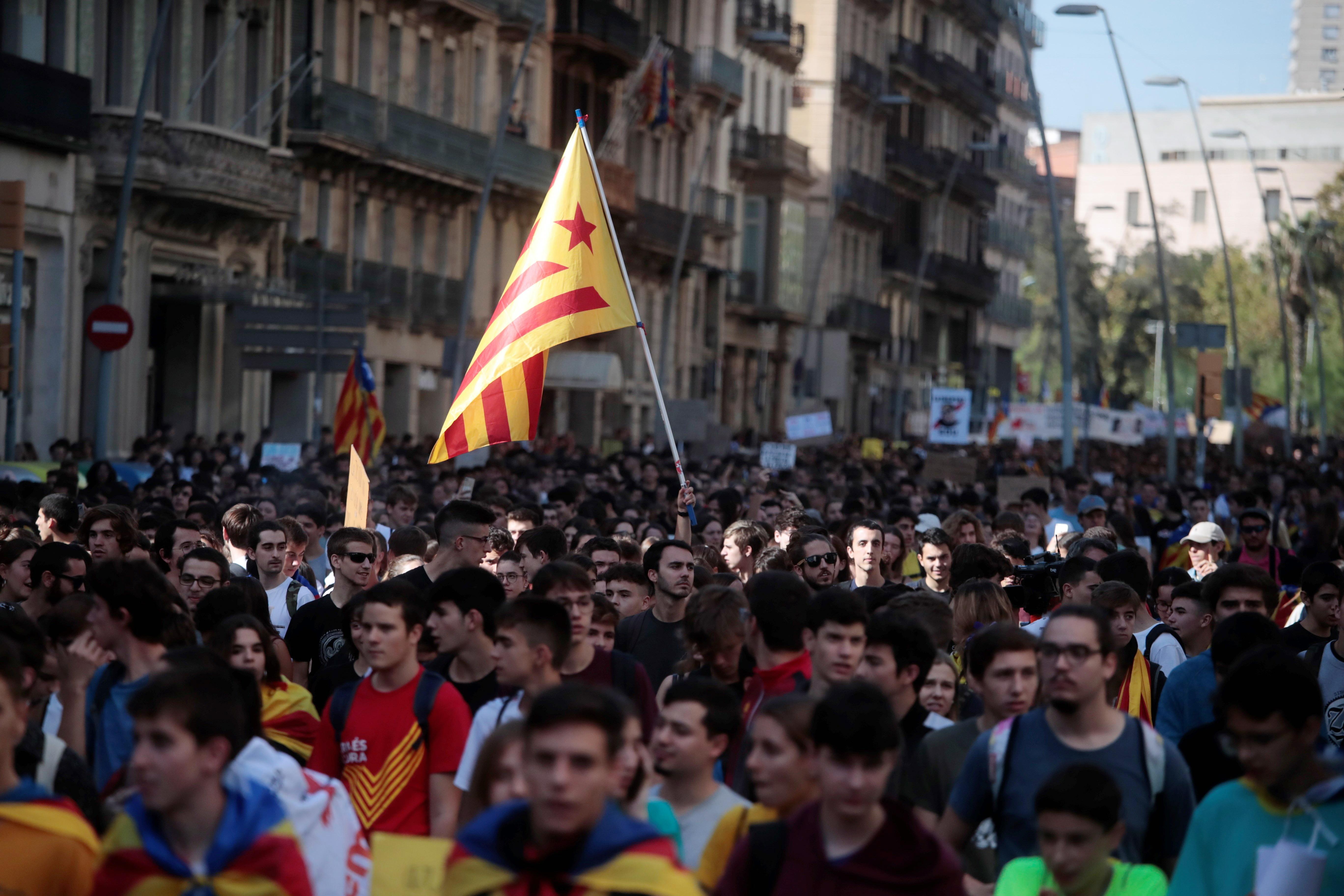 <p>Каталуния, протести</p>