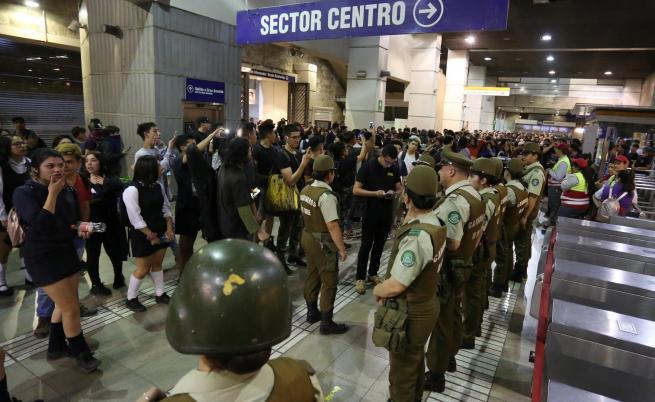 Извънредно положение в Чили заради скъп транспорт