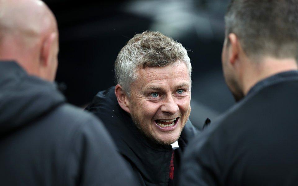 Мениджърът на Манчестър Юнайтед Оле Гунар Солскяер очевидно нямаше нищо