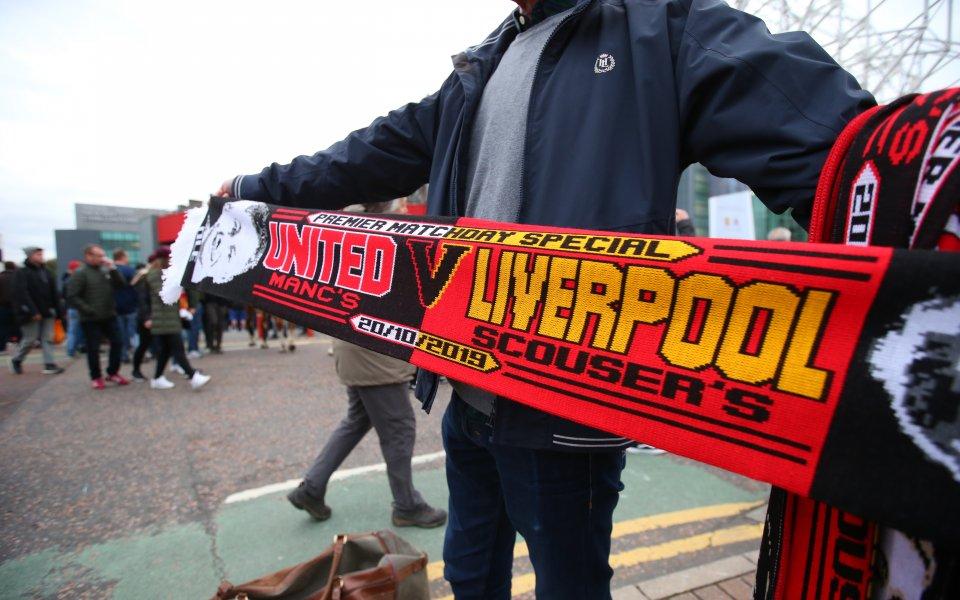 Отборът на Ливърпул приема тима на Манчестър Юнайтед в най-голямото