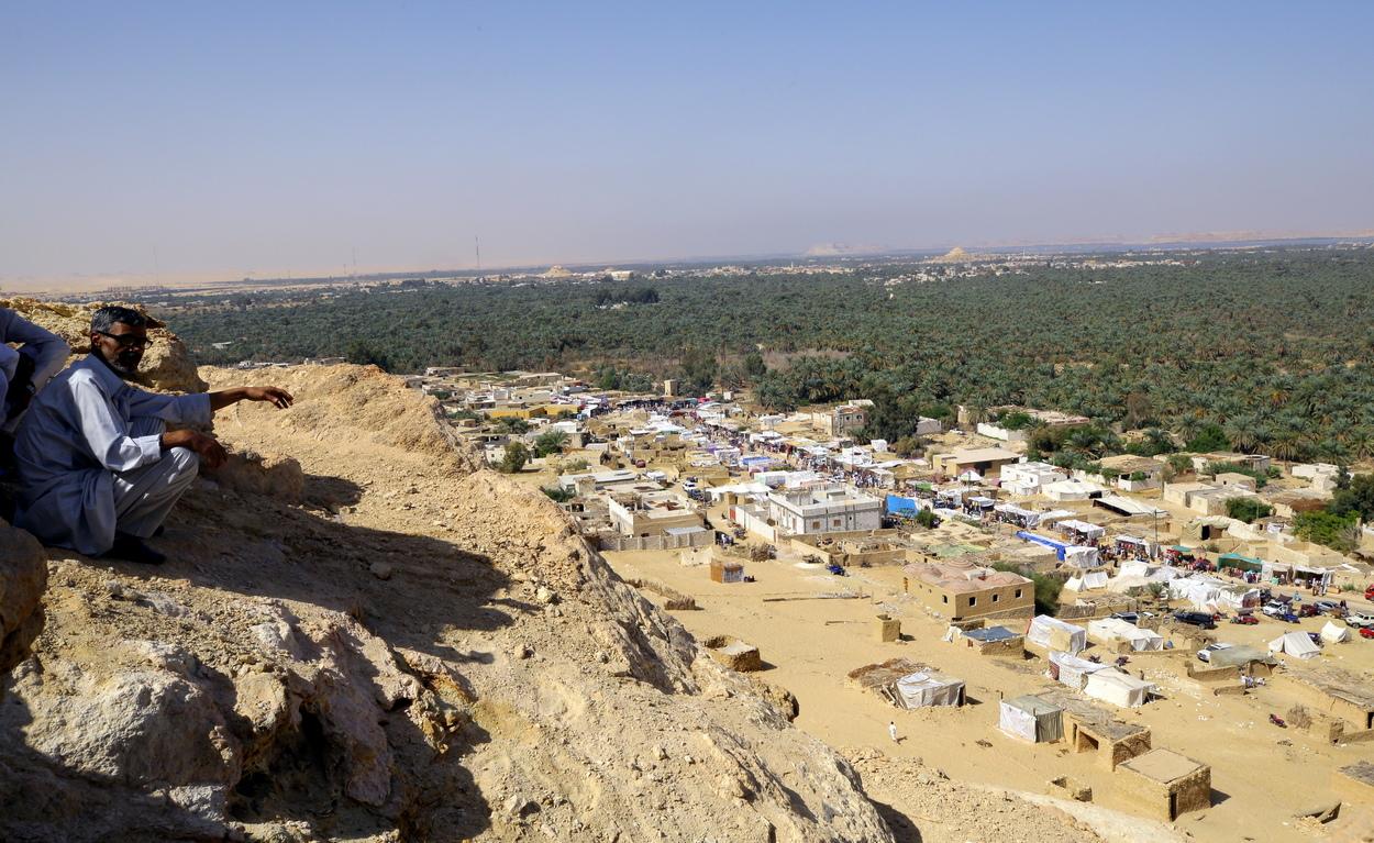 <p>Оазисът Сиуа е едно от най-изолираните селища в Египет</p>