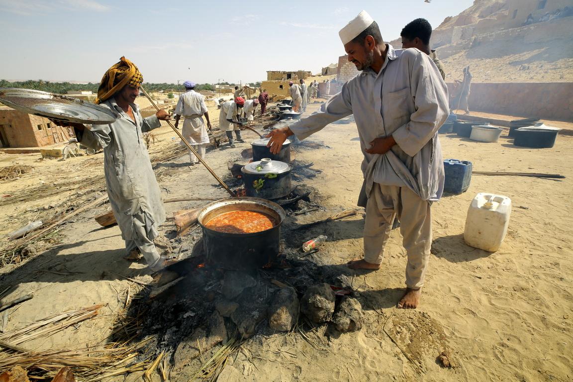 <p>Оазисът Сива е успял да съхрани духа на времето и традициите си.</p>