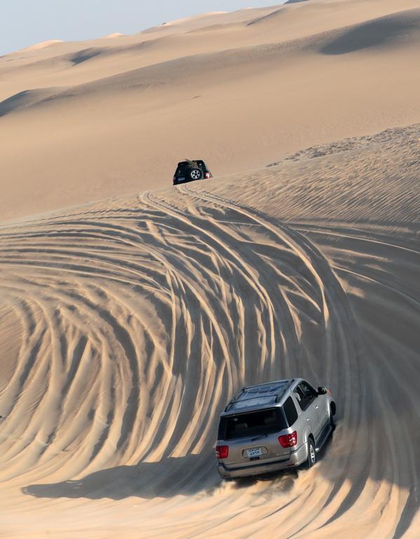 <p>Граничи с Нубийската пустиня в Северозападен Судан. Приблизително 1100 км дълга и 1000 км широка, Либийската пустиня е покрита от пясъчни ергове, планини и скалисти равнини</p>