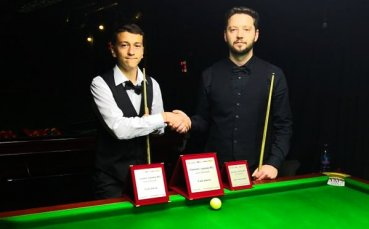 Братислав Кръстев спечели втория ранкинг турнир у нас