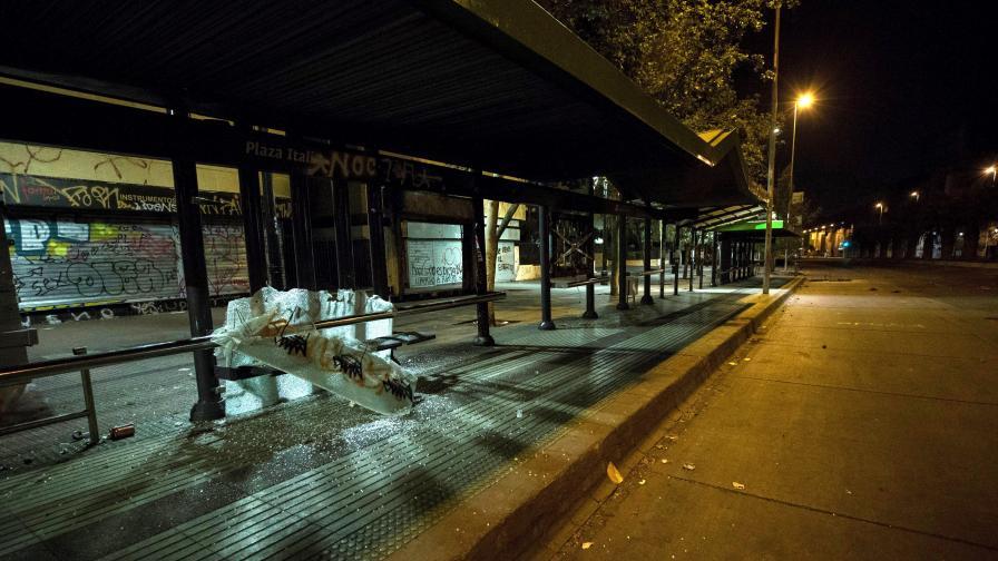 10 жертви в Чили, цената на билета подпали страната