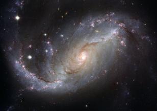 НАСА публикува зашеметяваща снимка на галактика