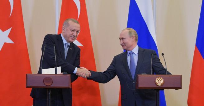 Свят Русия и Турция със съвместни патрули в Сирия Съвместното