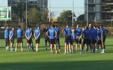 След почивката Левски поднови тренировки