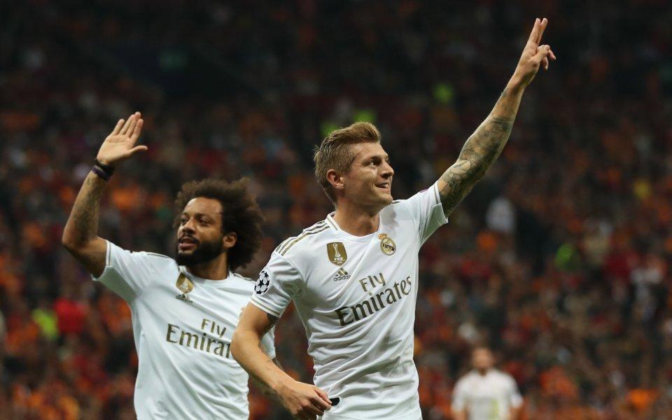 Галатасарай и Реал Мадрид играят при резултат 0:1в двубой от