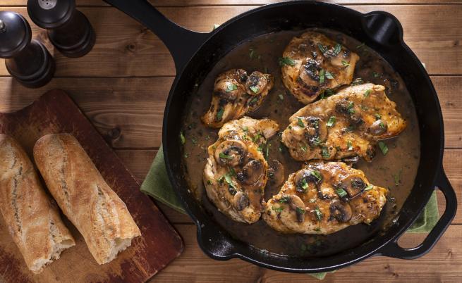 Какво да сготвим с пиле - без ориз и картофи