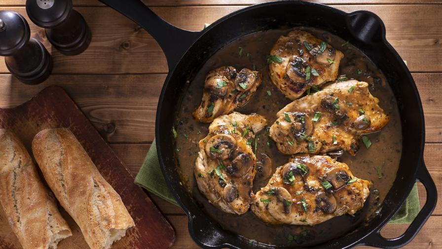 "<p>Какво да сготвим с пиле - <strong><span style=""color:#ffbc00;"">без ориз и картофи</span></strong></p>"