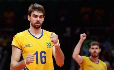 Назрява скандал с бразилски национал по волейбол