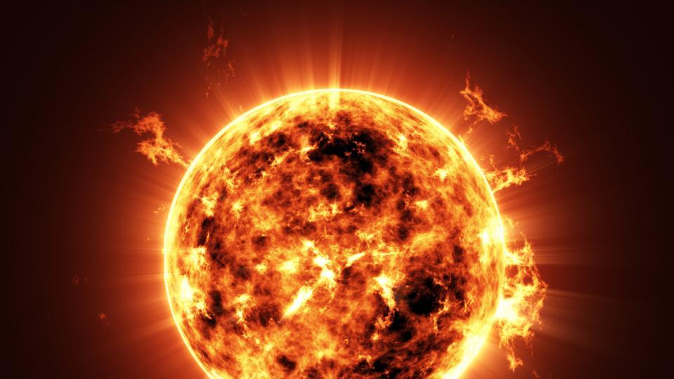 слънце планета космос