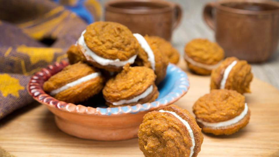 Бисквити с тиква и шоколад