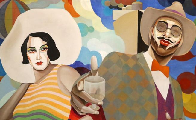 Пъстри и цветни - един вълнуващ творчески тандем (СНИМКИ)