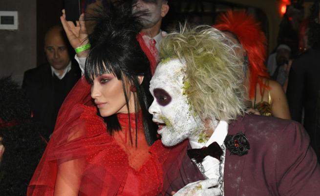 Хелоуинът на звездите. Кой облече най-страшния костюм?