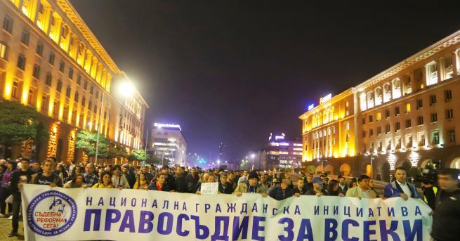 България Пети протест срещу Гешев, центърът на София е блокиран