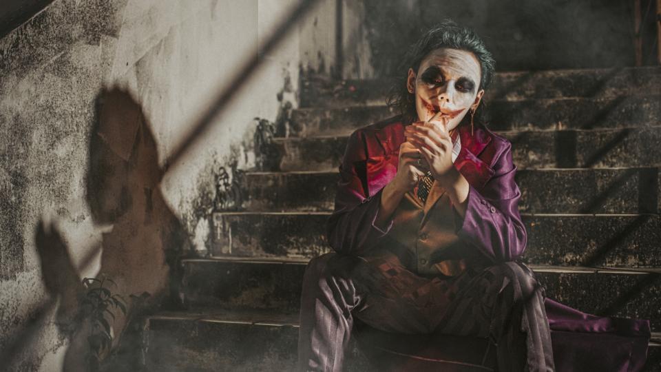 Хелоуин маска костюм Жокера