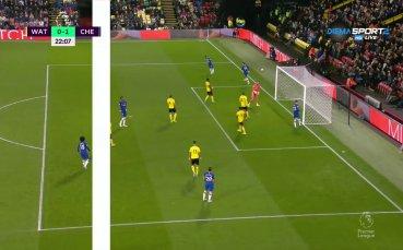 Уотфорд - Челси 0:1 /първо полувреме/