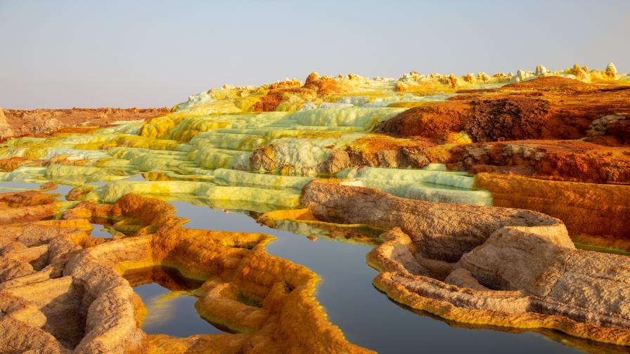 Пустинята Данакил, Етиопия