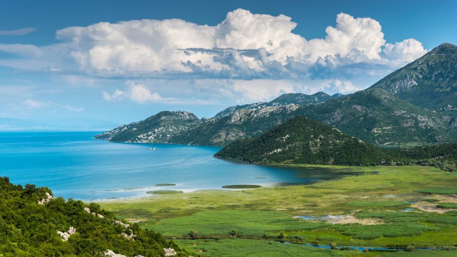 Шкодренското езеро, Черна гора