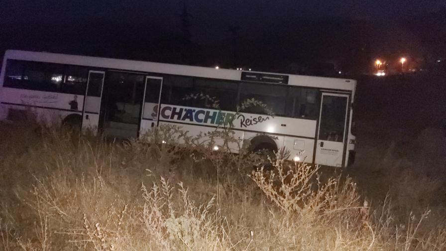 Инцидент с автобус край Шипка