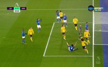 Лестър - Арсенал 0:0 /първо полувреме/