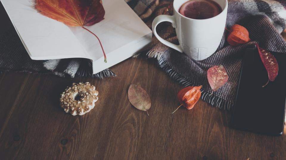 есен уют сутрин кафе